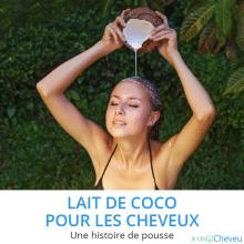 lait de coco pour les cheveux