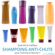 Quel est le meilleur shampoing anti-chute pour homme et femme ?