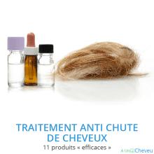 Traitement anti chute de cheveux