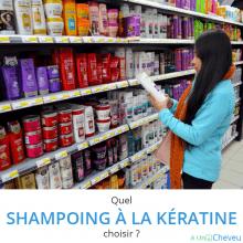 shampoing à la kératine