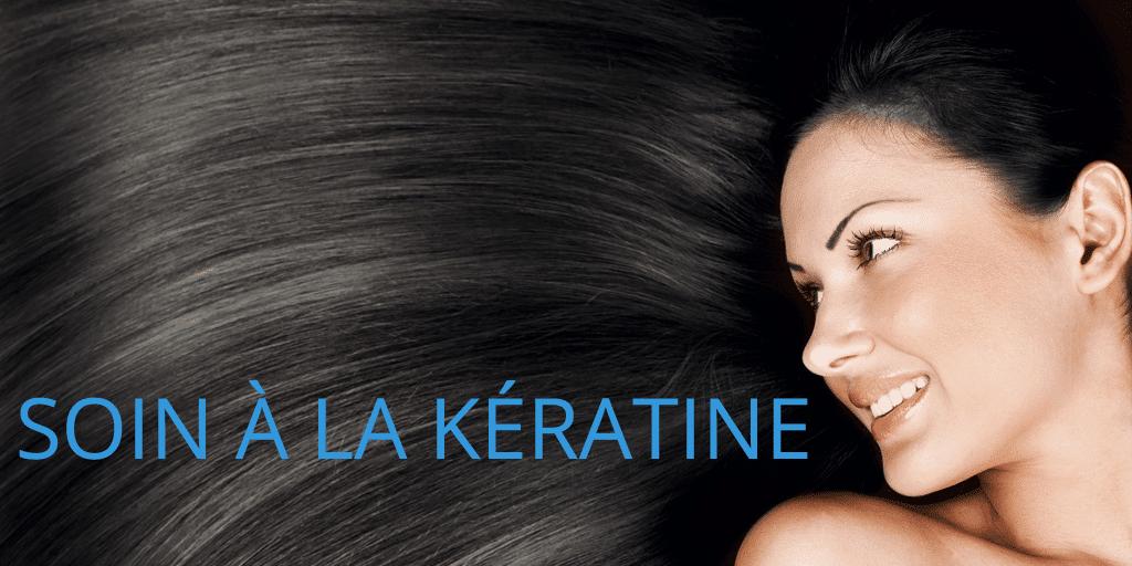 Soin à la Kératine : une large palette (maison + coiffeur