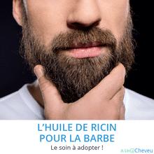 Huile de ricin pour la barbe - A Un Cheveu