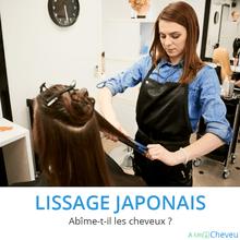Lissage japonais - A Un Cheveu